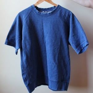 UNIQLO Classic Fit Denim Sweatshirt/T-Shirt